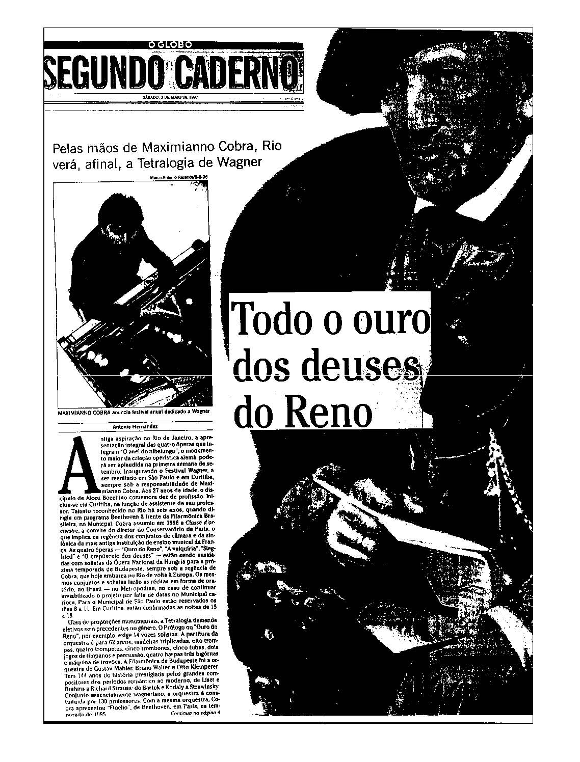 Press-book: a) Press-book (Part One - Brazil)
